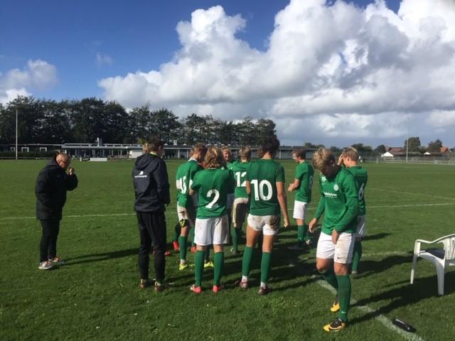 Jakob coacher sit hold på hjemmebanen i Viborg