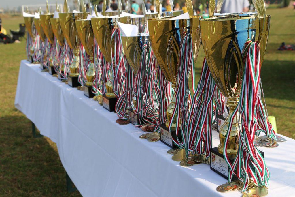 Pokaler til Verona Cup