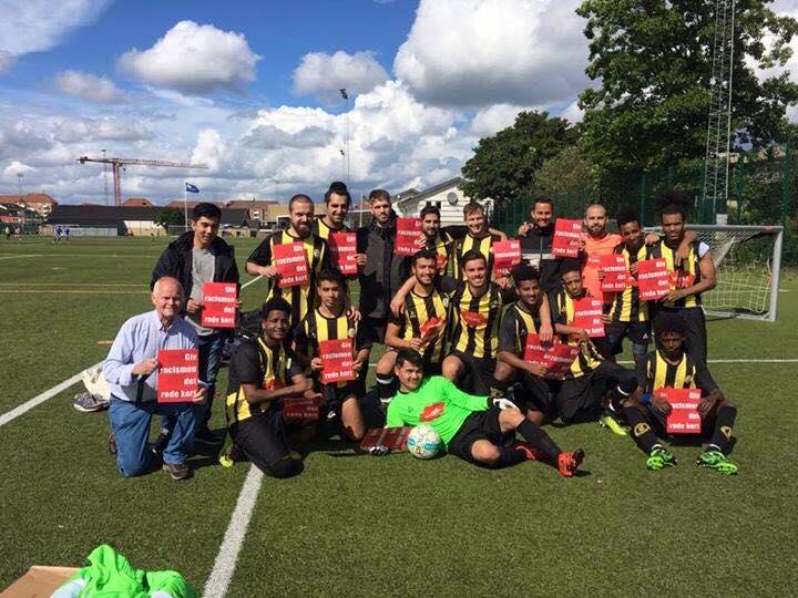 Fodbold er et frirum for flygtninge