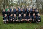 Ølstykke FC og Jyllinge FC U16 piger har startet et holdsamarbejde. Uden et sådant holdsamarbejde var det næppe sandsynligt, at der havde været U16 pigefodbold i de to klubber. (Foto: Martin Schütt)