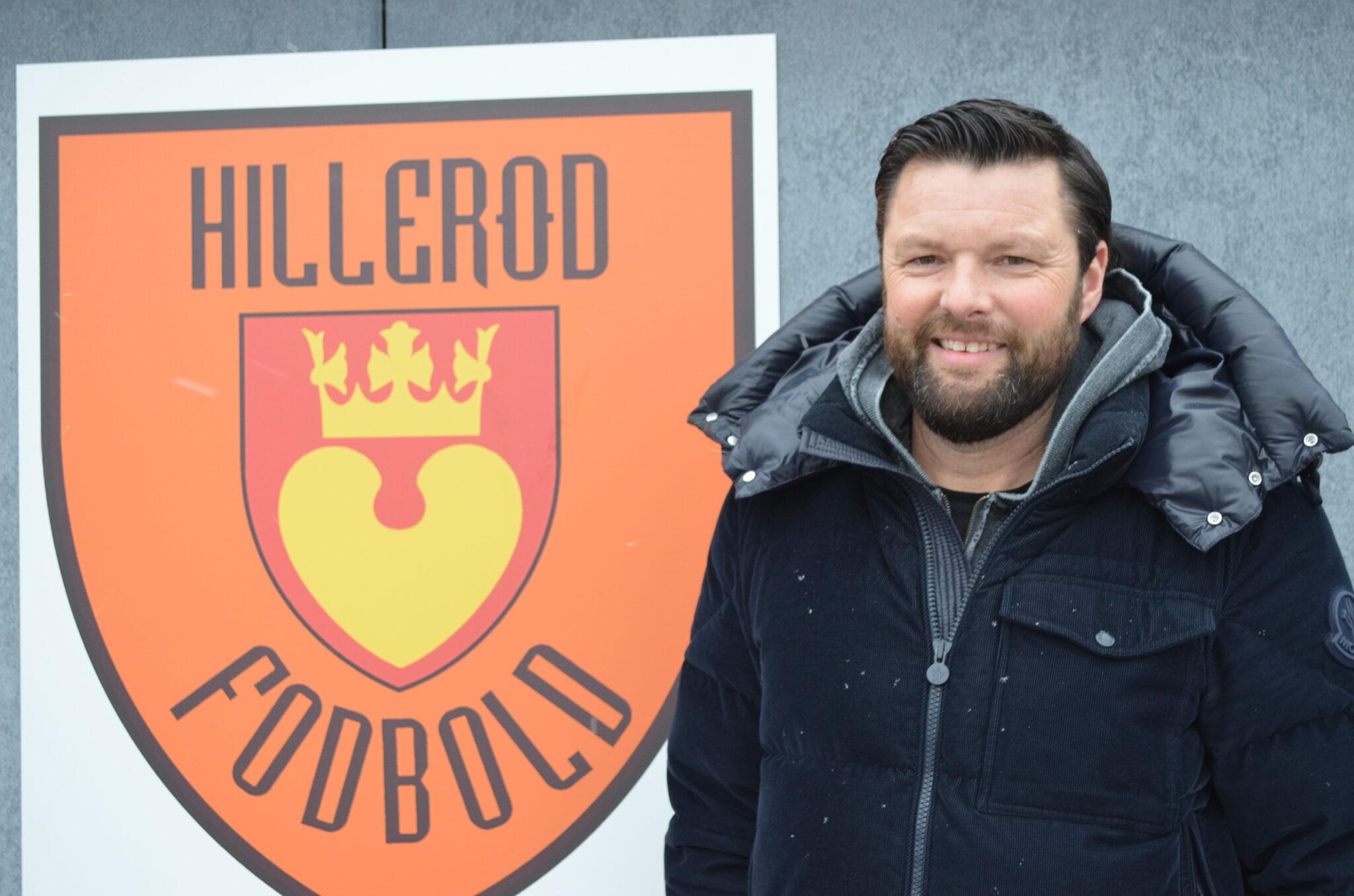 Christian Lønstrup er ny cheftræner for Hillerød Fodbold. Hans første opgave i 2. division bliver søndag den 14. marts på Gladsaxe Stadion mod AB.