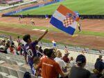 Stor begejstring og glæde hos børn og voksne på Poljud Stadion i Split, da Kroatien tog imod og vandt 3-0 i VM-kvalifikationen over naboerne fra Slovenien. (Foto: DTU)