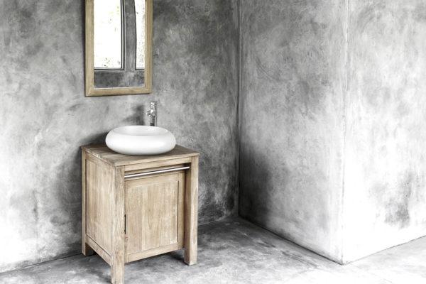 ConSpire Milano Betonnen Waskom Licht Grijs Cement