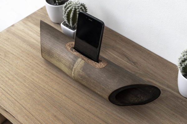 draadloze speaker bamboe voor Iphone