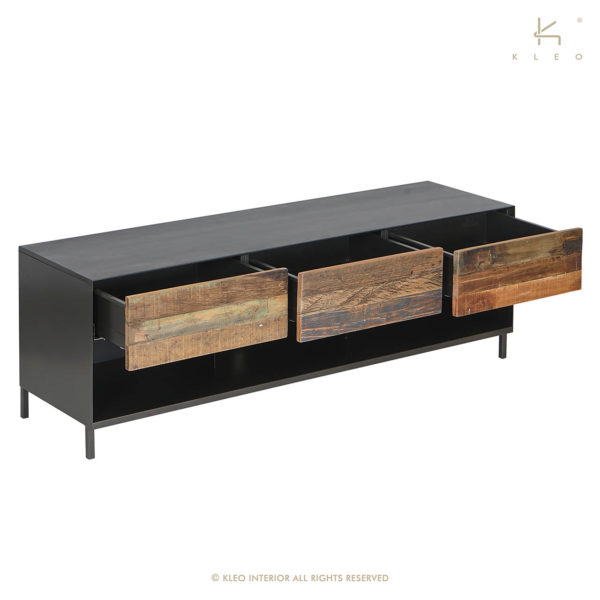 KLEO TV Console Boatwood
