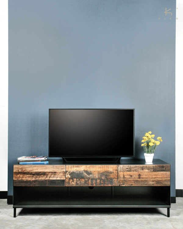 reclaimed houten tv kast