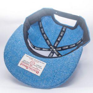 Echte Harris Tweed Snapback Kappe