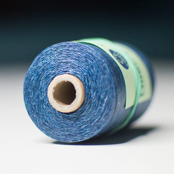 Blue Waxed Hemp - Blauer gewachster Hanffaden für den Dudelsack