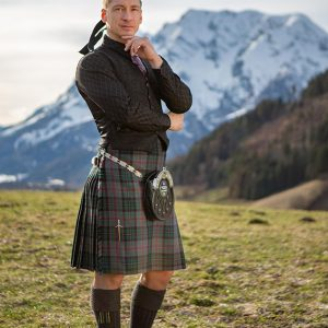 Austrian Piping Society Tartan Karo Kilt Heavy Weight kaufen