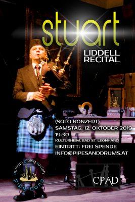Stuart Liddell Solo Konzert Recital 2019 Kärnten Bad St. Leonhard