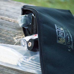 Dudelsack Service Set mit Tasche