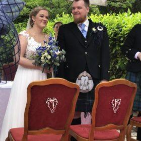 Struan MacCallum Hochzeit Dudelsackschule APS. Ppe Band Österreich