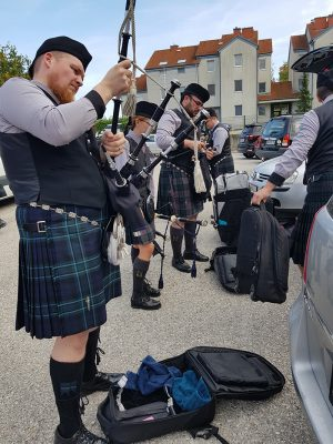 10 Jahre Black Smith Pipers Jubiläum