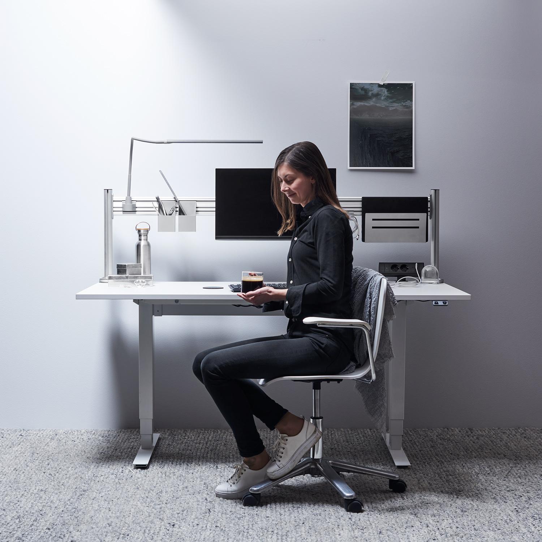 Sådan skaber du ro ved skrivebordet
