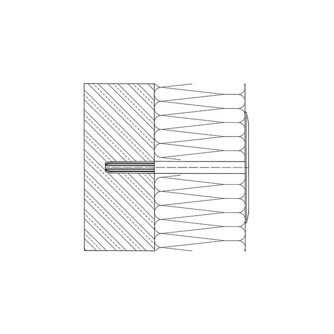 DÜNA Isoleringspladedybel i plast (1-delt)2