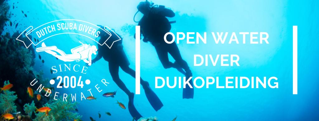 open water diver duikbrevet