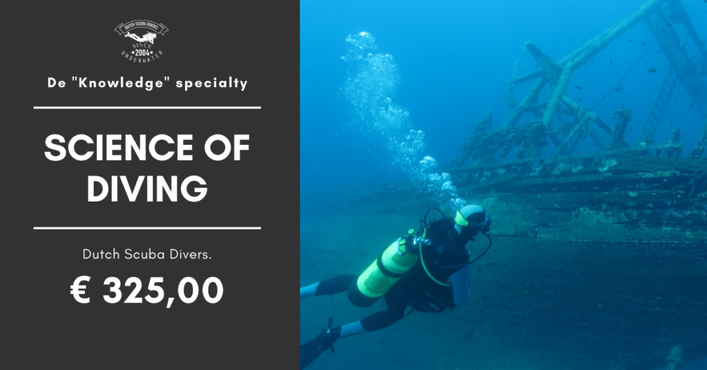 science of diving den haag