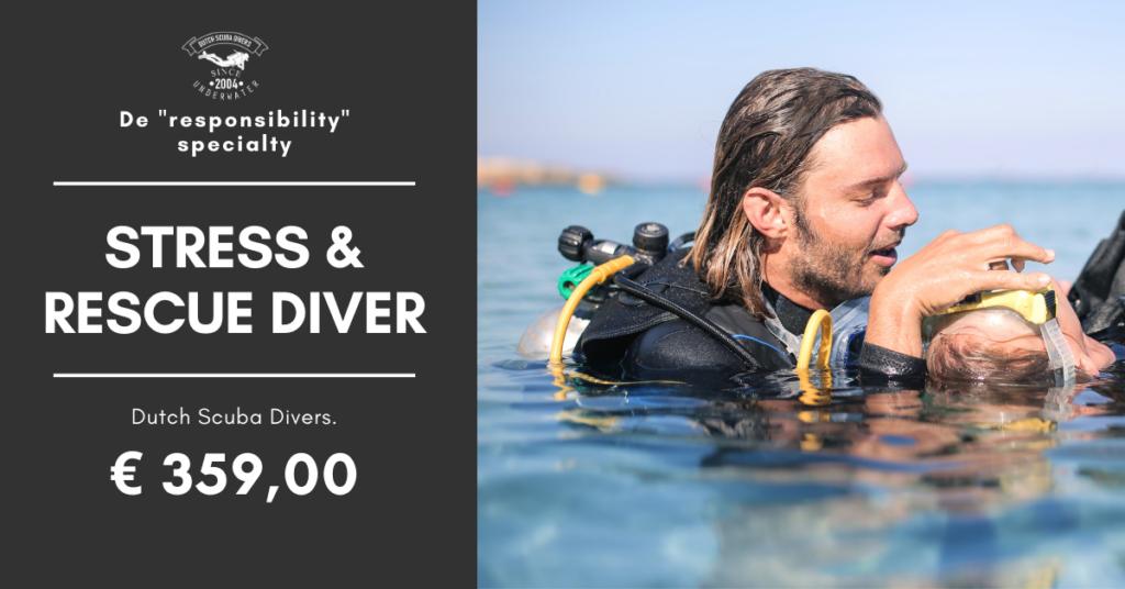 stress en rescue diver