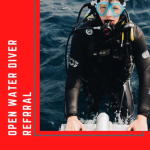open water diver referral