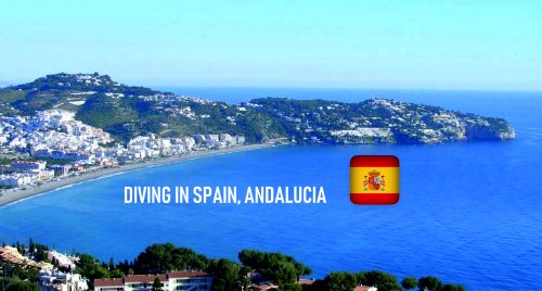 diving in spain, andalucia