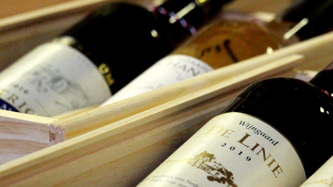 Online podium wijn