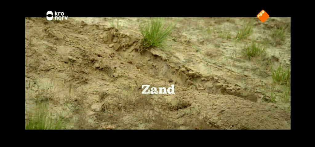 Terroir bodem zand