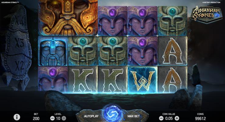Asgardian Stones – Spilleautomat fra NetEnd