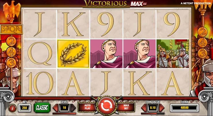 Victorious MAX – Spilleautomat fra NetEnd