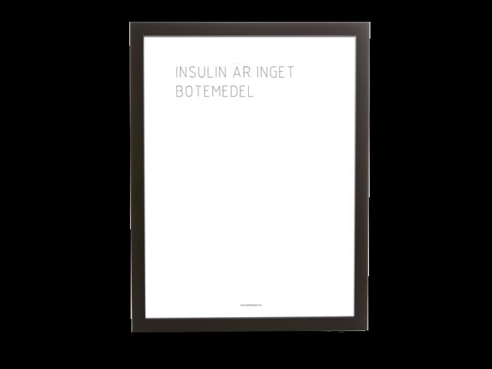 Insulin är inget botemedel | Diabetes