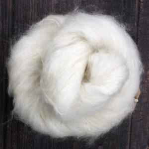 Tyk Kid Silk - 78% Kid Mohair 13% Merino 9% Nylon - 100g/200m - 200 kr.
