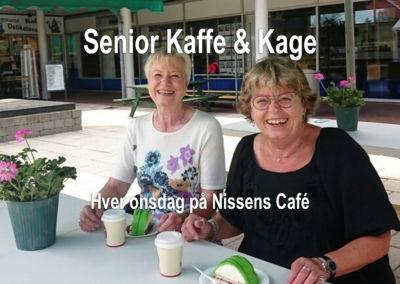 Seniorkaffe & kage onsdag 8/11