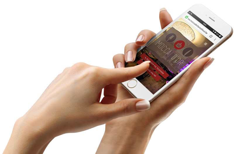 Mobiele & responsive website design - mortsel