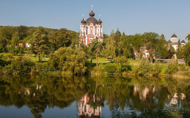 Curchi klosteret i Moldova