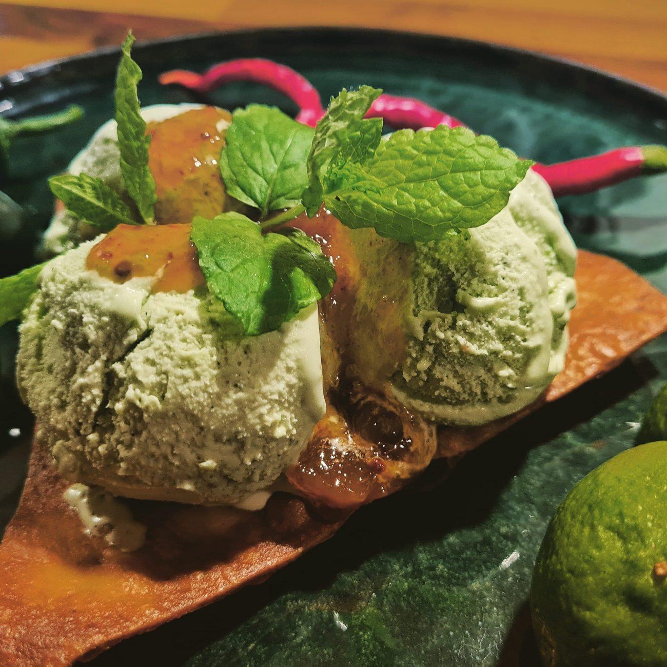 Jalapeño is med lime og mynte