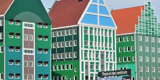 Nieuw stadhuis in Zaandam