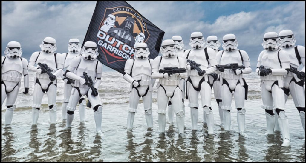 Dutch Garrison cosplayers