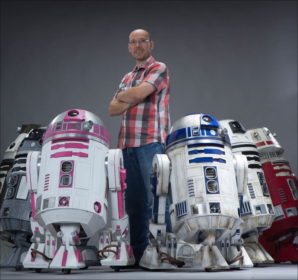 Droid builder Lee Towersey