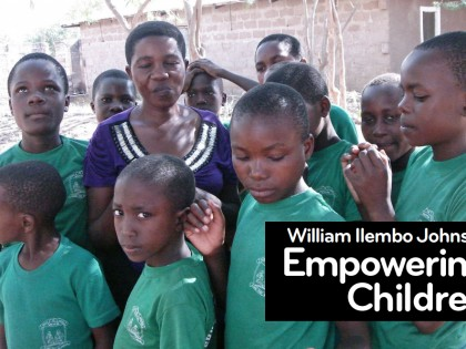 William Ilembo Johnson : Empowering Children