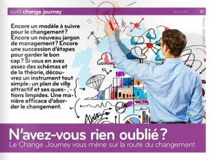 Outil. Change journey : la gestion du changement collectif