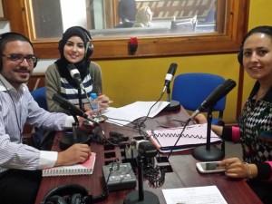 Eerste live radio-uitzending voor de territoriale coaches