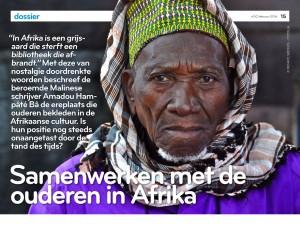 UITNODIGING n'GO-debat: Samenwerken met de ouderen in Afrika