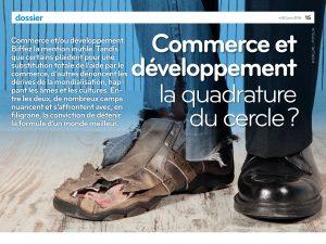 """Colloque """"Commerce et développement"""""""