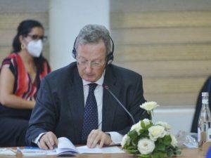 Octobre – L'Ambassadeur Belge au Maroc parle de l'ONG Echos Communication à Oujda !