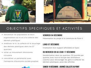 """Le Coaching Territorial au cœur de l'économie circulaire Sénégal, """"Dakar Ville Propre, Sans pollution plastique"""""""