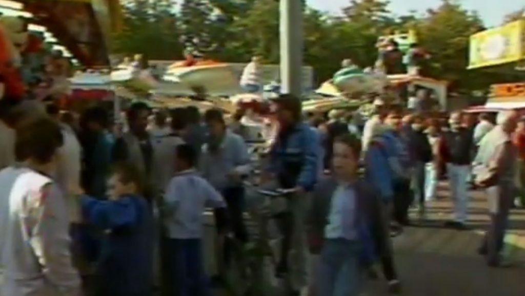 Late TV: Echter Kermis en parachutespringers (1987)