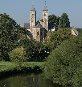 Bezoek aan de Basiliek van Odiliënberg.