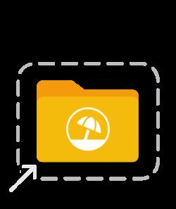 Download DropZone Icon: Urlaubsantrag