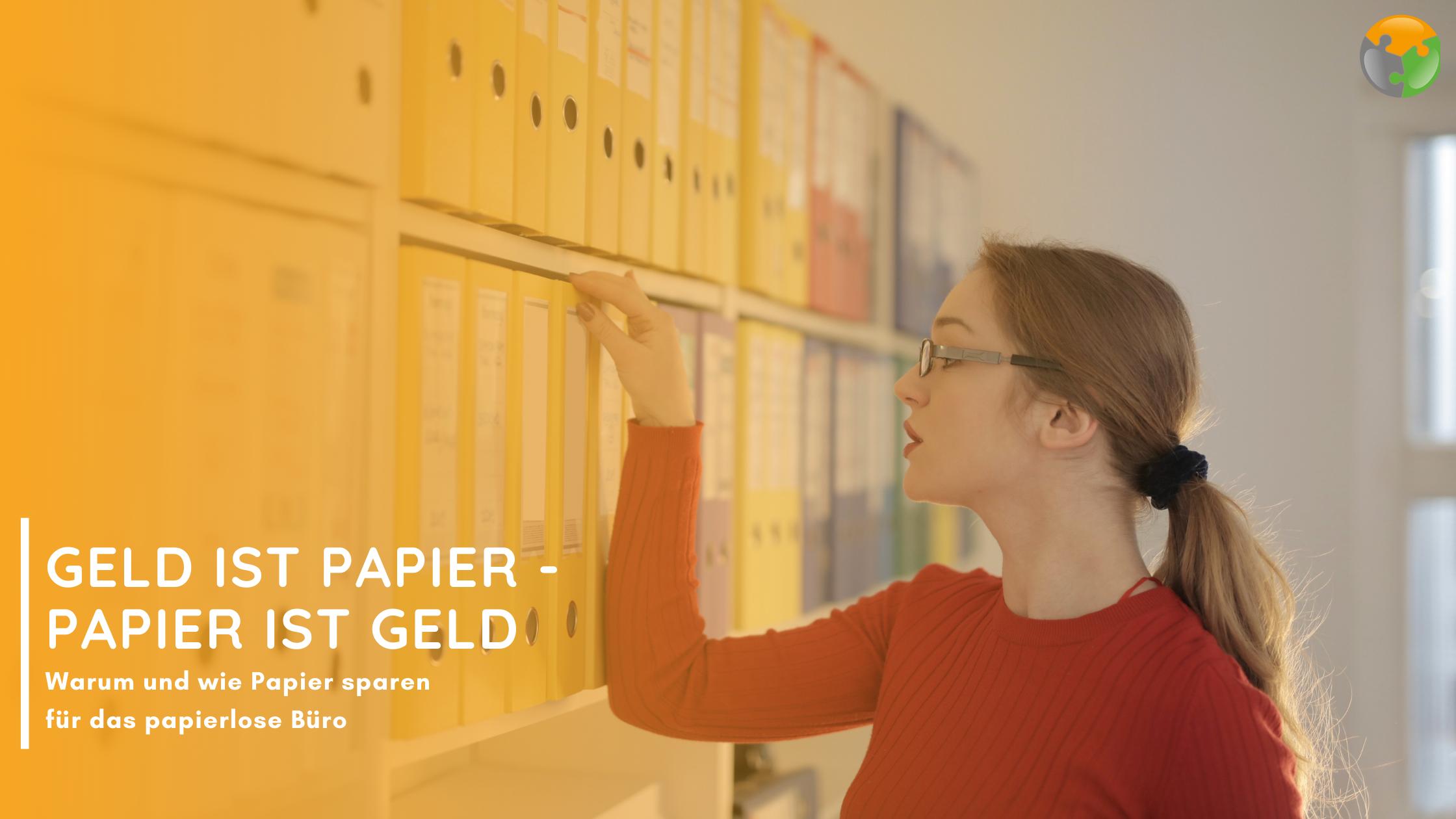 Papierloses Büro Dokumentenmanagementysystem Workflows