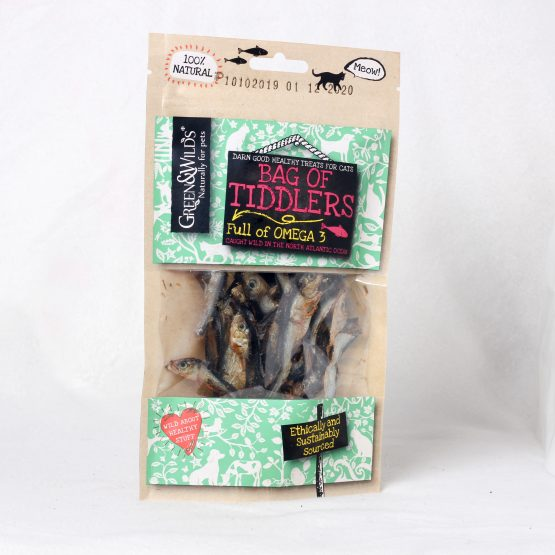 Bag of Tiddlers for Cats