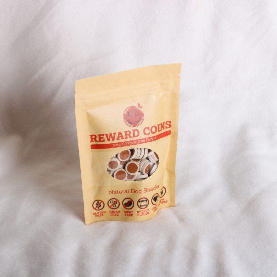 Natural Papaya Fruit Reward Coins